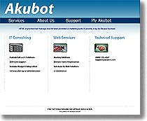 Akubot Prototype for New Site